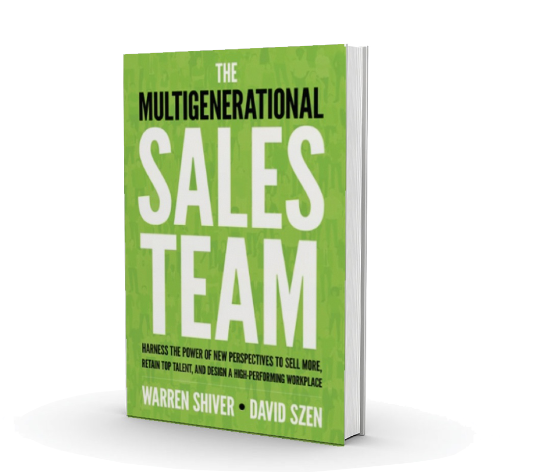 Multigenerational Sales Team book cover