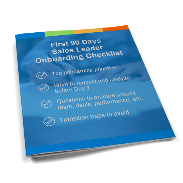 Sales Leader Onboarding Checklist