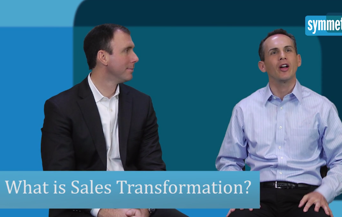 Warren Shiver and Michael Perla on What is sales force transformation?