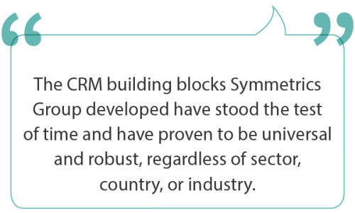Building blocks for successful CRM implementation