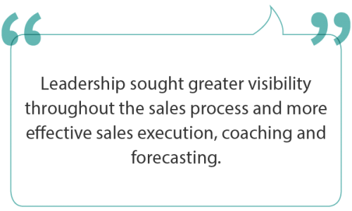 Implementing consistent sales execution best practices