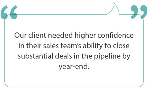 Equipping the sales force to close more deals