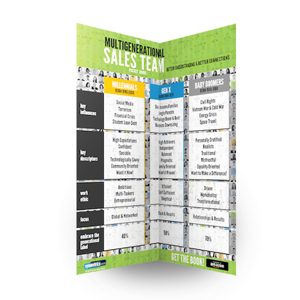 Multigenerational sales team pocket guide