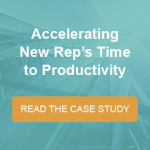 Accelerating Sales Rep Productivity Case Study