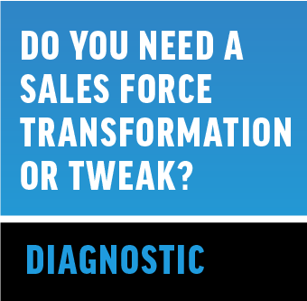 Sales Force Transformation Tweak