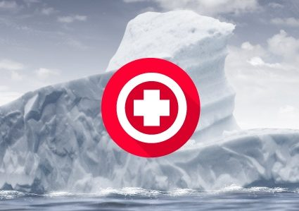 Iceberg: 4 common CRM disasters