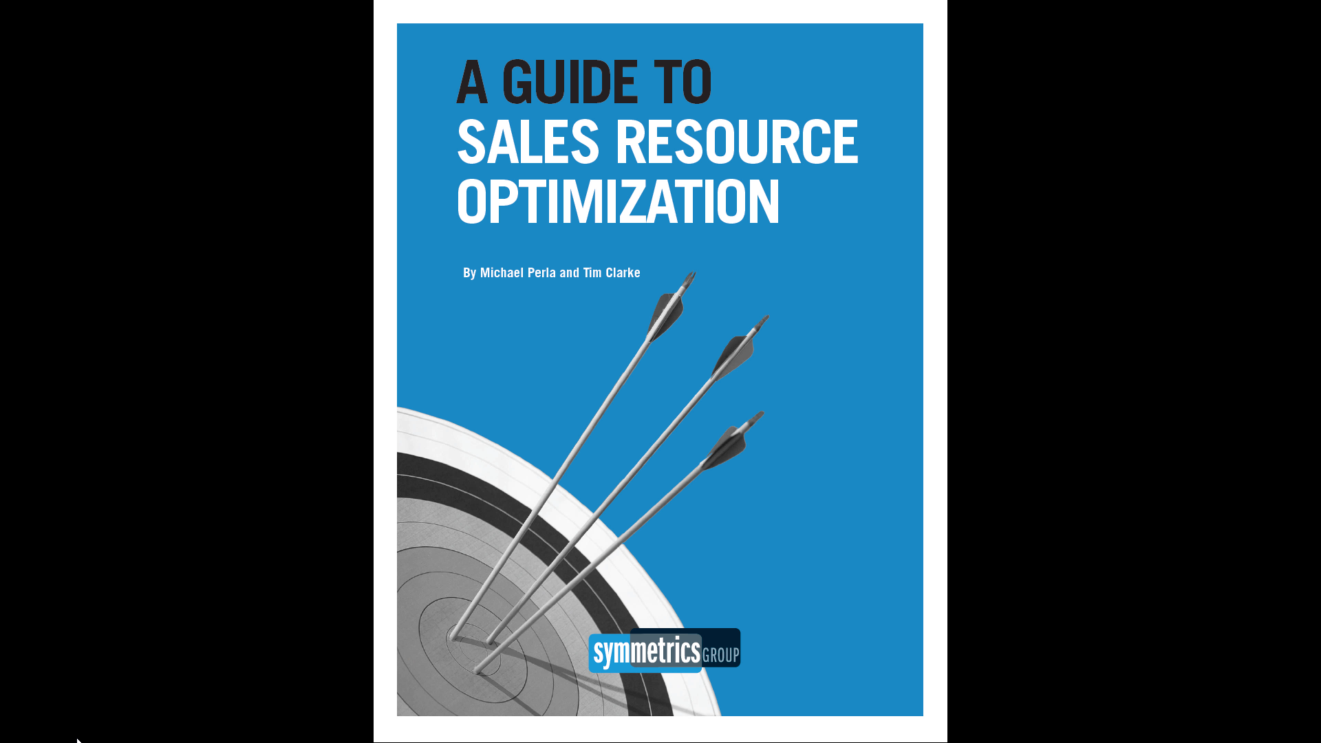 Guide to Sales Resource Optimization by Symmetrics Group